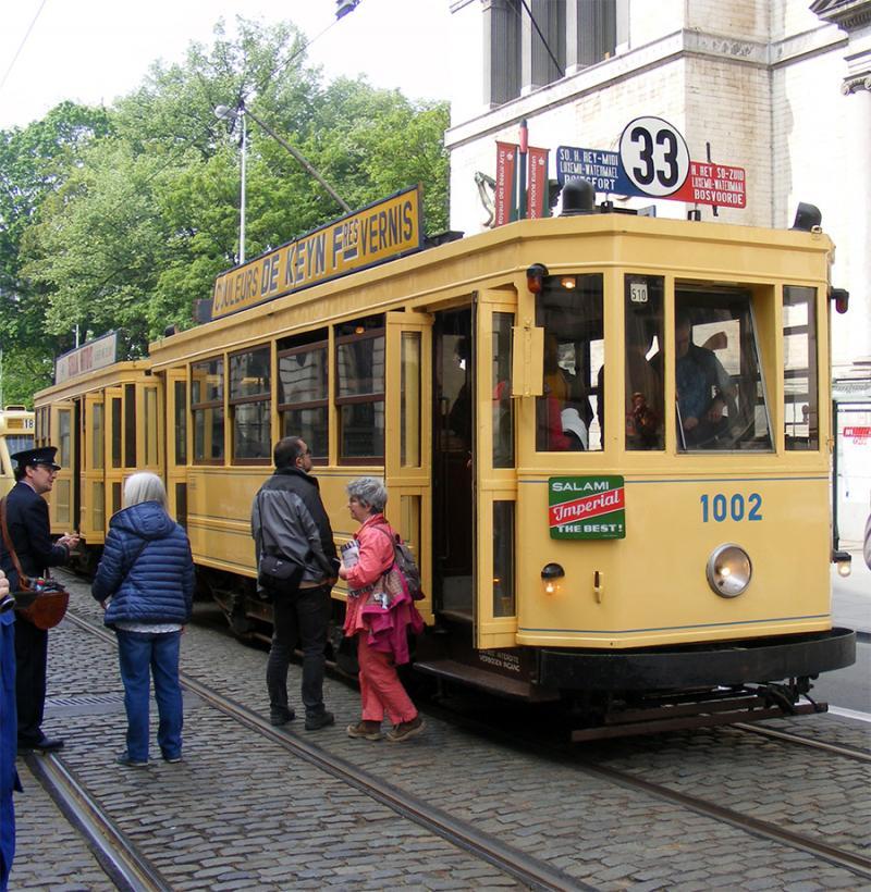 150 ans de tram à Bruxelles - Page 2 929NR