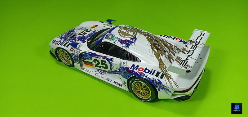 Tamiya Porsche 911 Gt1 Par guillaume.b allias maquette tv 97Rgj
