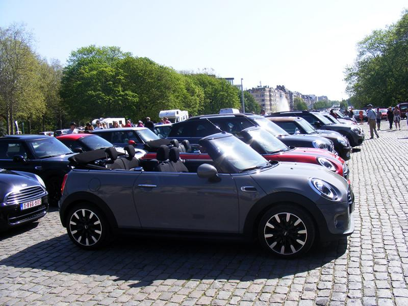 Autoworld - MINI Parade 22 avril 2019 9JAXR