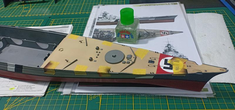 Bismarck 1/350 Tamiya  - Page 7 9jDZR