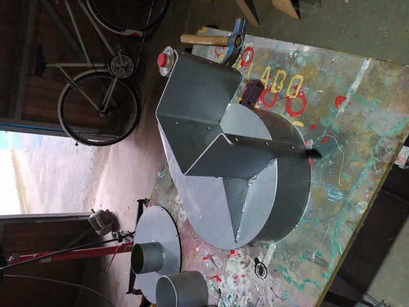 Installation d'une aspiration centralisee à l'atelier 9nWVY