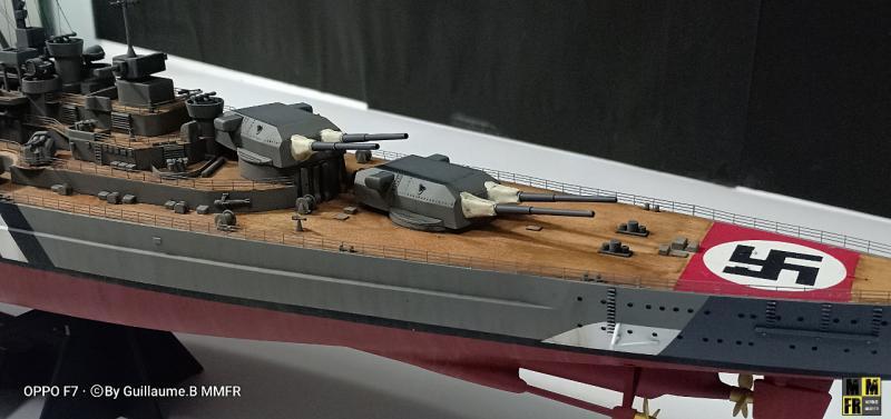 Tamiya Bismarck 1/350 par Guillaune.B ( montagemaquettefr) A8Oa0