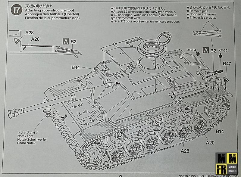 Tamiya Sturmgeschutz III - 1/35 DAQ8A