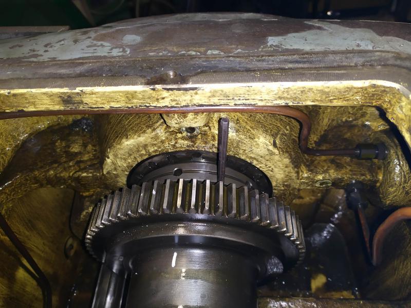 Remplacement des roulements de broche sur tour Graziano SAG 508 DAy13