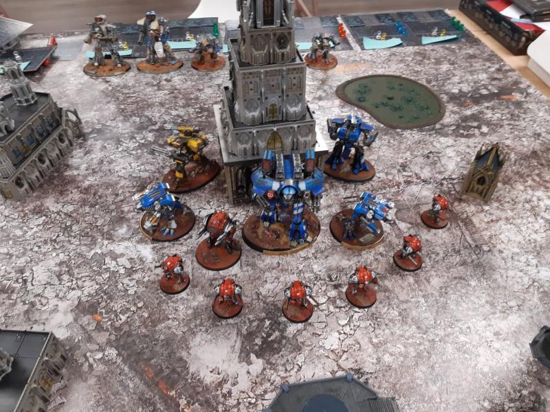 Titan Death, bataille 3 DnWAE