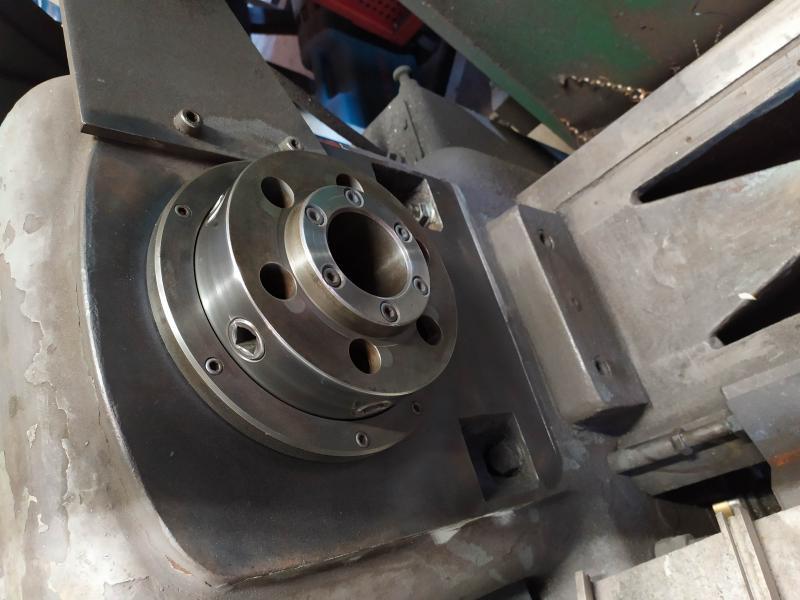 Remplacement des roulements de broche sur tour Graziano SAG 508 EA3G5