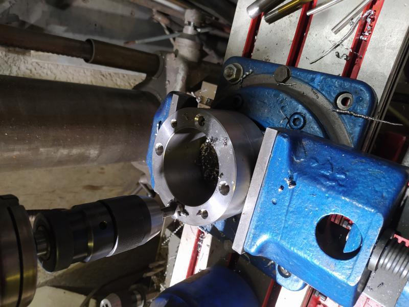 Installation d'un frein sur un tour qui n'en est pas equipé EgDmE