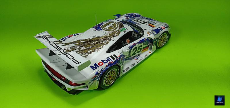 Tamiya Porsche 911 Gt1 Par guillaume.b allias maquette tv G7oAD