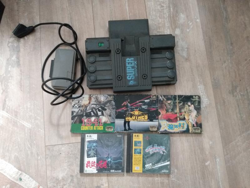 [Estim] Console Supergrafx et JEUX !!! GA0od