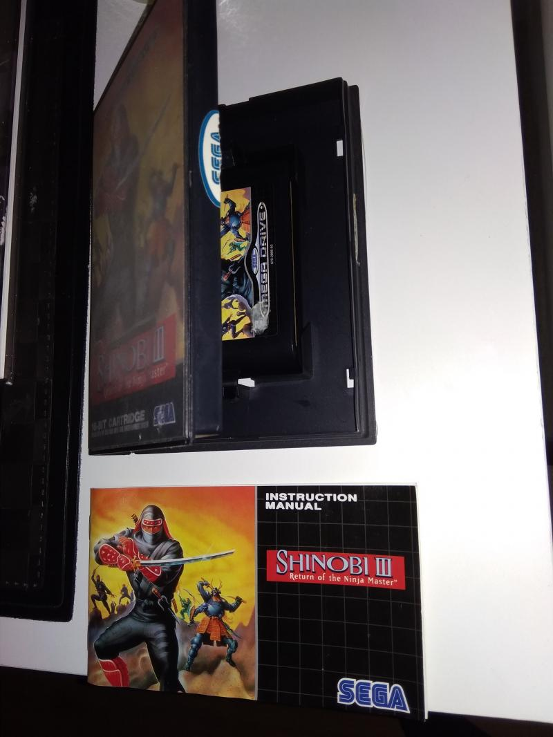 [Vds]Shinobi MD 70 in - Stick Arcade Megadrive 20 eur in GDlEk