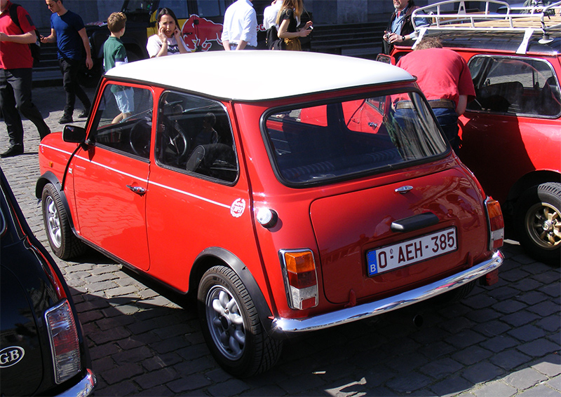 Autoworld - MINI Parade 22 avril 2019 GQ4W7