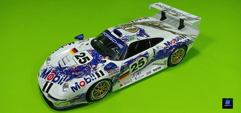 Tamiya Porsche 911 Gt1 Par guillaume.b allias maquette tv J7WPy
