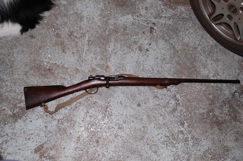 fusil chassepot modifié chasse  JJRyO