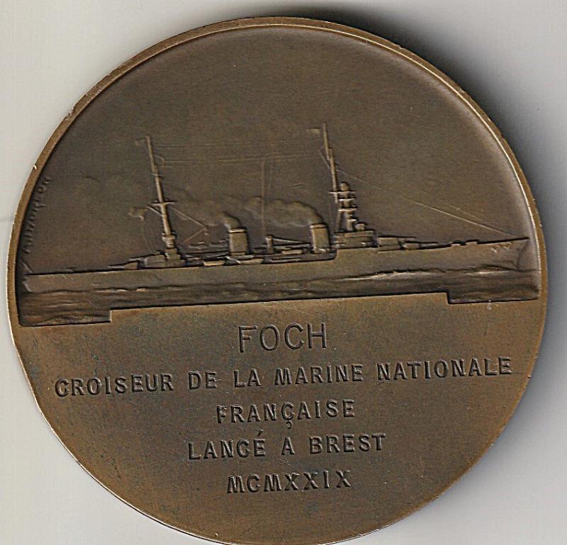Medaillon du marechal Foch JaDjx