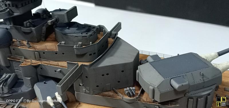 Tamiya Bismarck 1/350 par Guillaune.B ( montagemaquettefr) JavNX