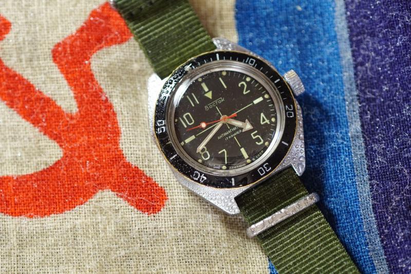 Une Vostok Amphibian vintage vraiment étanche, ça existe ? JyLEy
