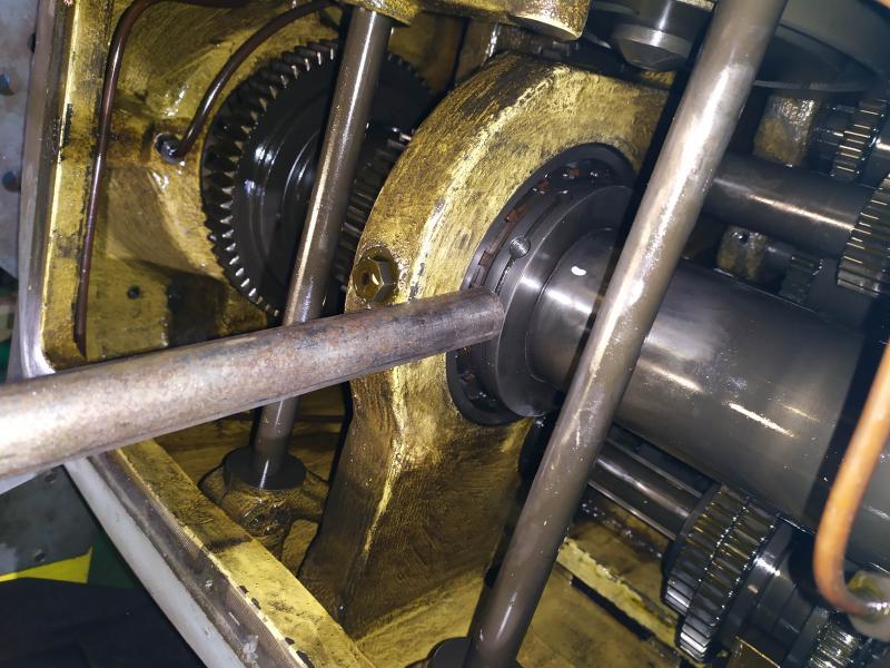 Remplacement des roulements de broche sur tour Graziano SAG 508 KAOg3