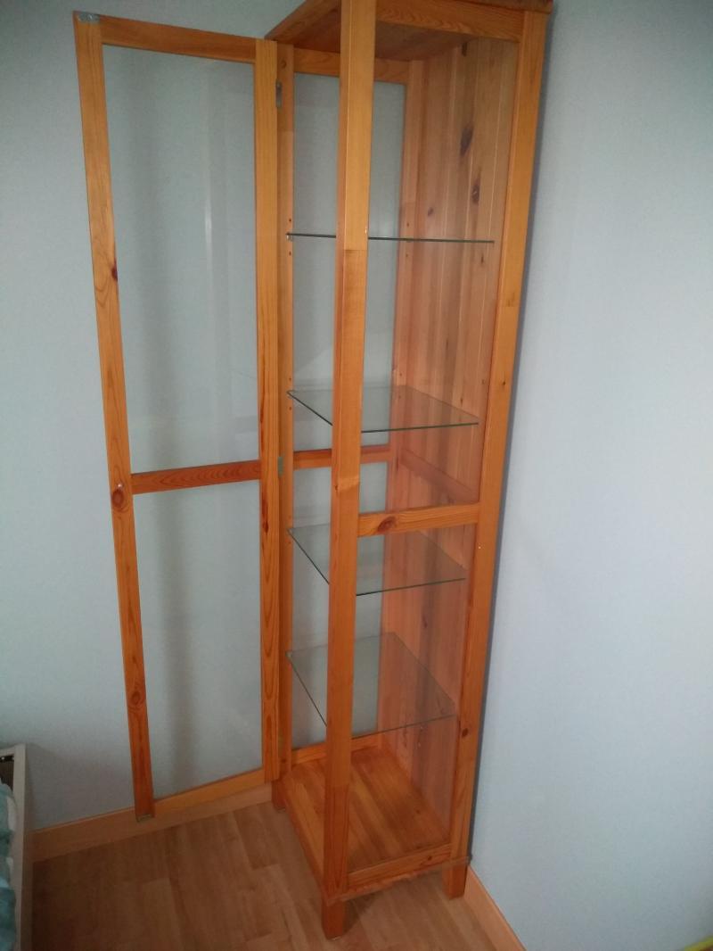 [vendu] vitrine en bois et verre KLGw1