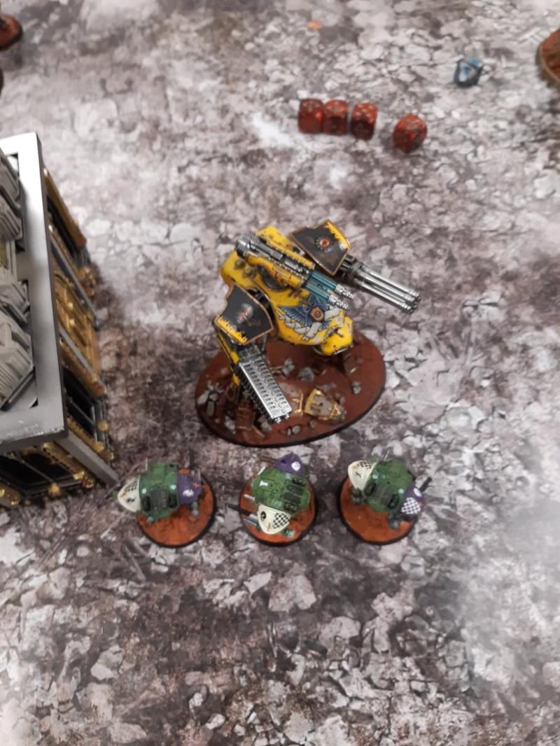 Titan Death, bataille 3 KNXAm