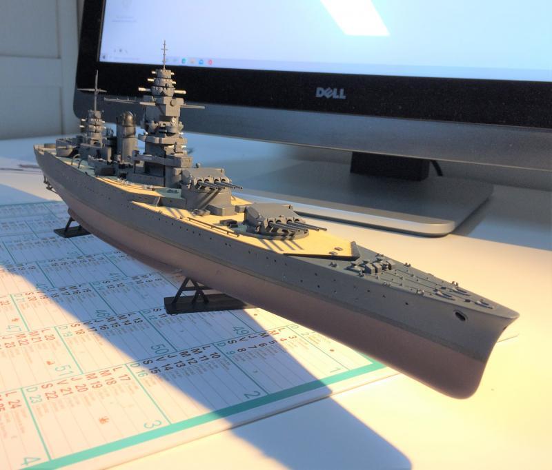 Cuirassé Dunkerque 1/400 KdlrK