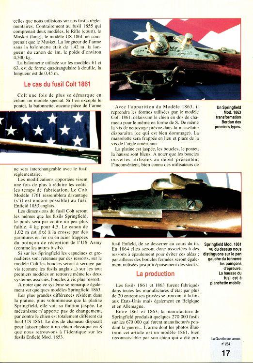 Fusil Colt modèle 1861 L88JA