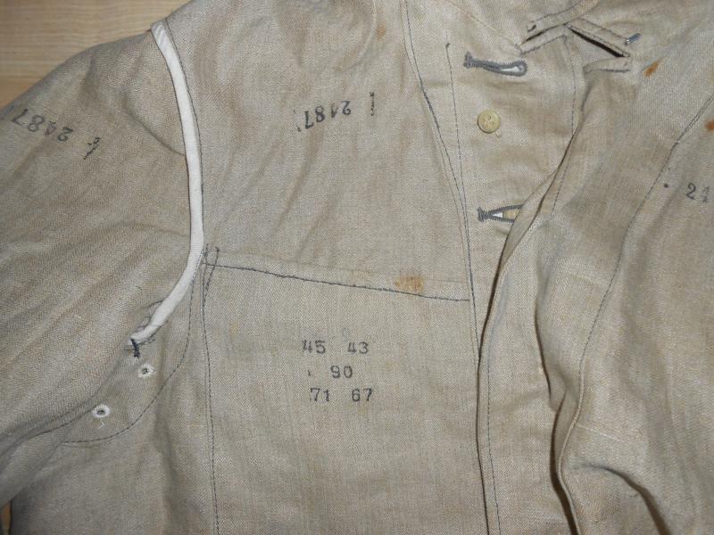 Estimation manteau Allemand et veste blanche?? Lj148