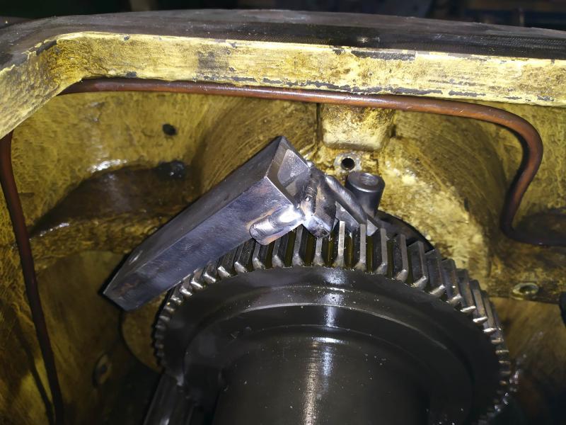 Remplacement des roulements de broche sur tour Graziano SAG 508 LjOjL