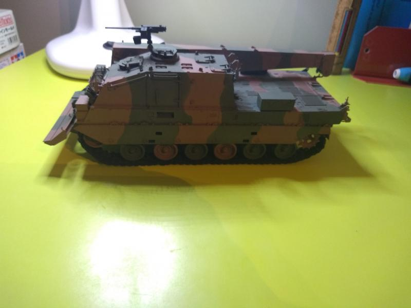 [Convoi] Type 90 MBT et ARV Tamiya + Etokin Model NJ5L1