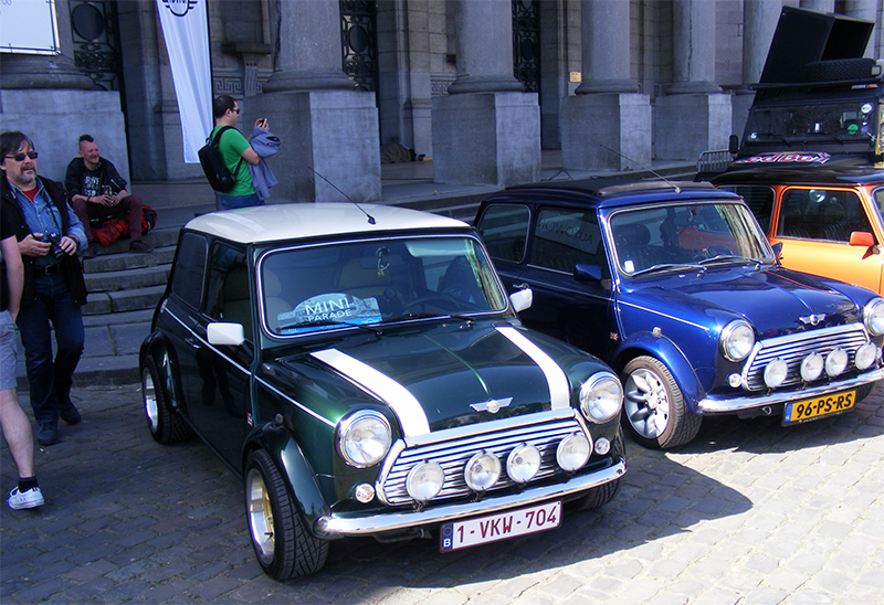 Autoworld - MINI Parade 22 avril 2019 P2re0