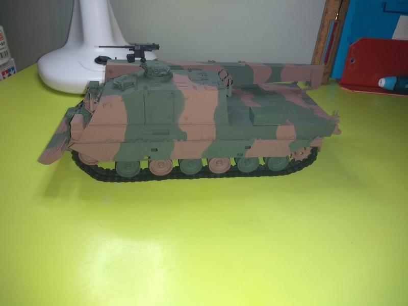 [Convoi] Type 90 MBT et ARV Tamiya + Etokin Model PA1g0