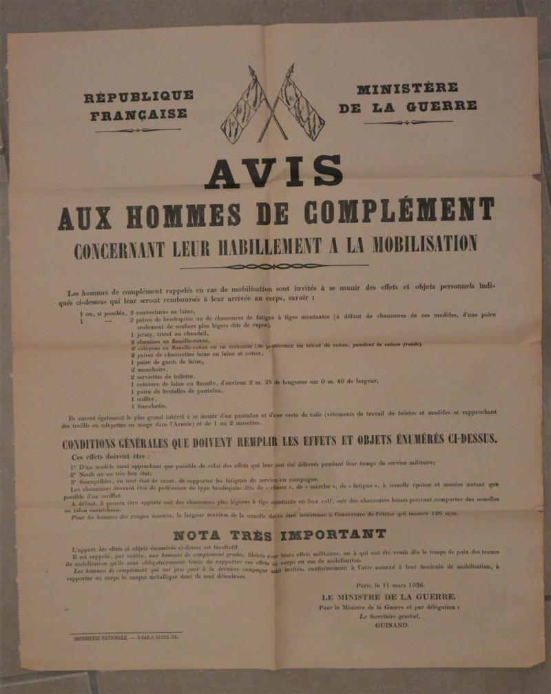 Suite Affiche mobilisation générale 1939... PYYo5
