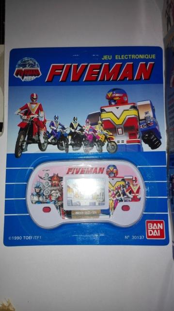 La gamme de jouets Fiveman - Bandai Pwp2k