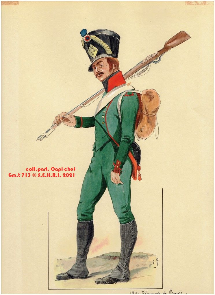 Le regiment de Prusse PxWXn