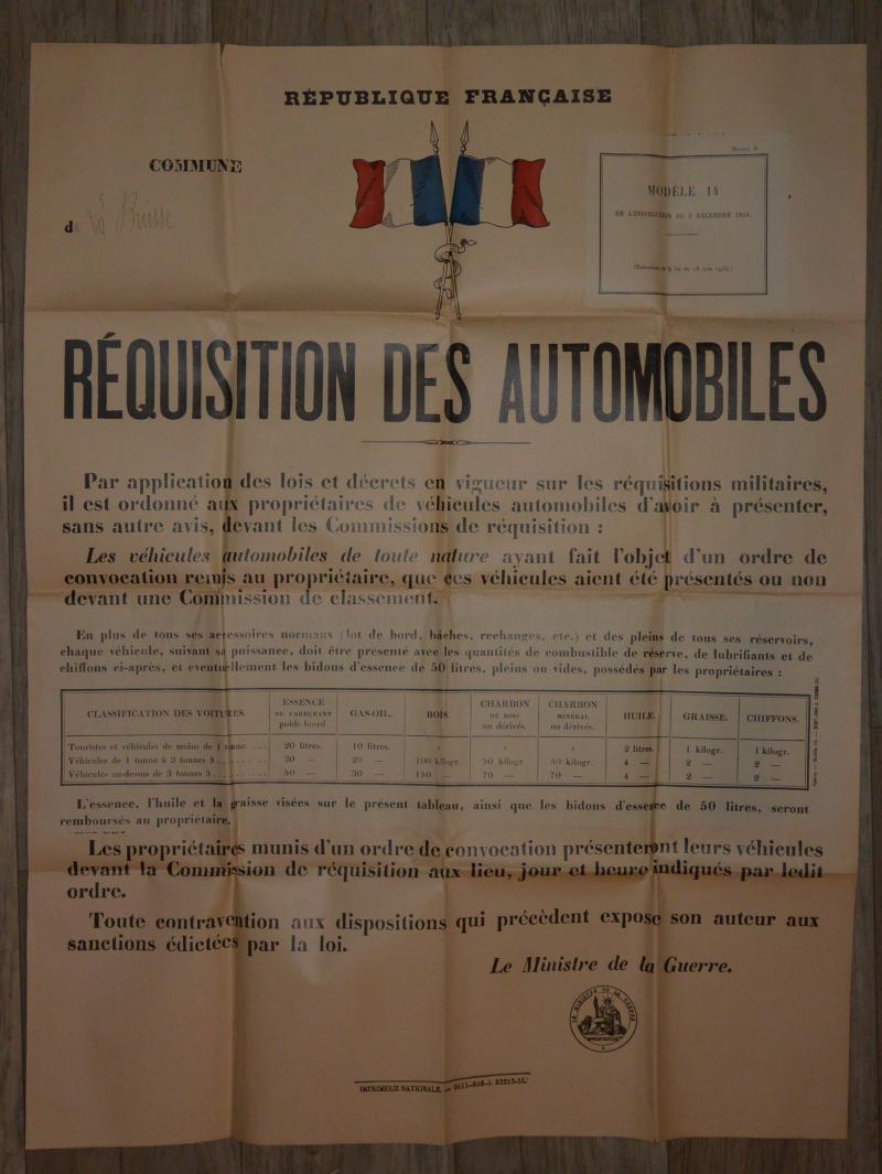 Affiche mobilisation générale 1939 RDgJ7