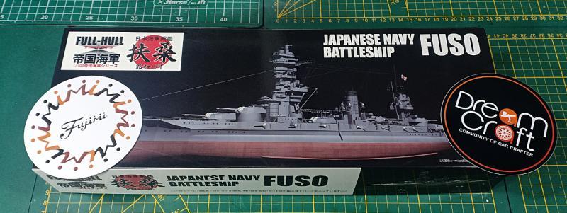 Fuso (Fujimi 1/700° et PE) par MaquetteTv RW9Gm