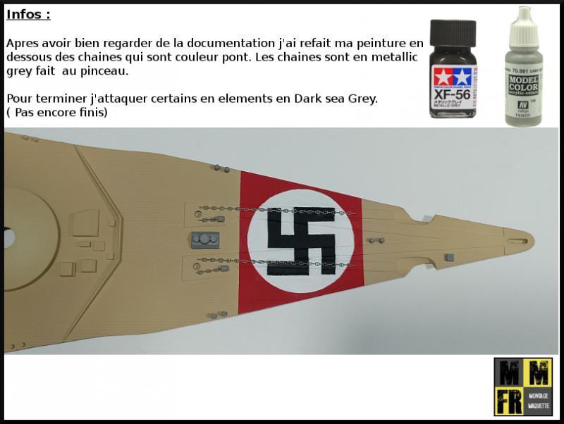 Bismarck 1/350 Tamiya  - Page 3 RvdoA
