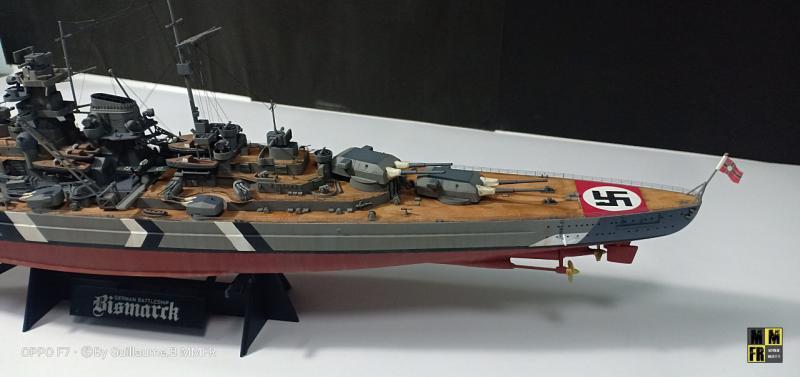 Tamiya Bismarck 1/350 par Guillaune.B ( montagemaquettefr) V2V2A