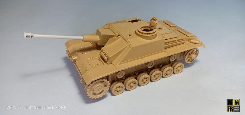 Tamiya Sturmgeschutz III - 1/35 V7DvA