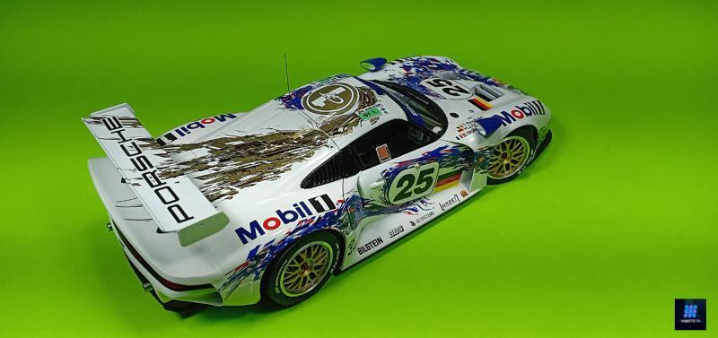 Tamiya Porsche 911 Gt1 Par guillaume.b allias maquette tv VE87v