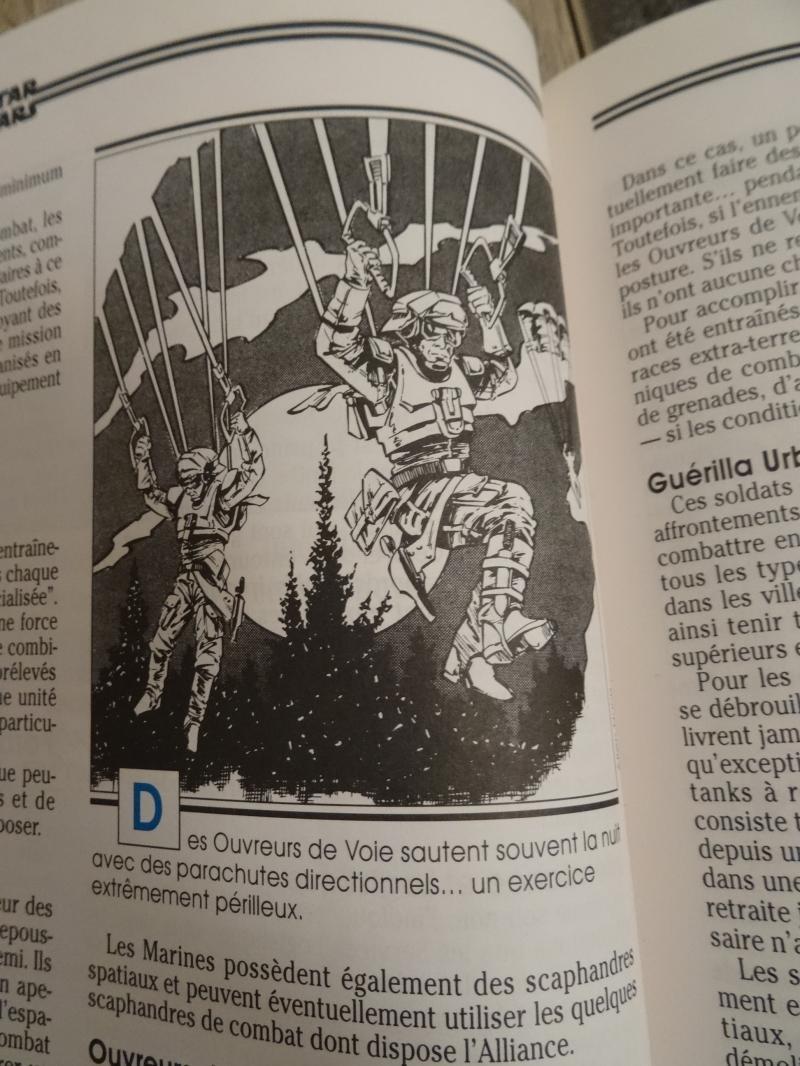 Les livre de jeu de rôle Star Wars et leurs connexions. WJV2D