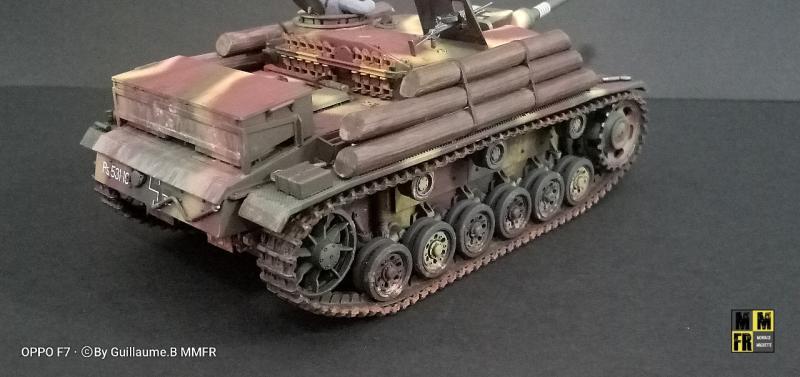Tamiya Sturmgeschutz III - 1/35 WP54D