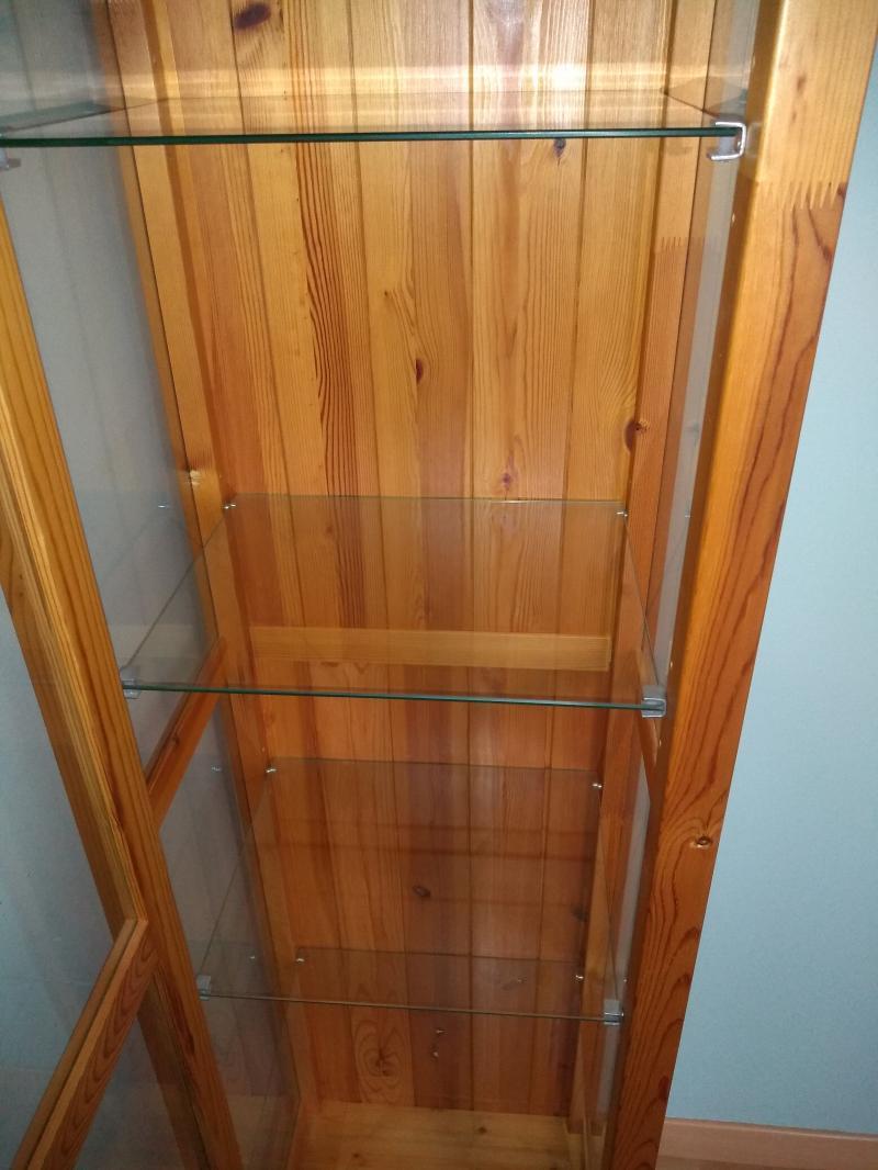 [vendu] vitrine en bois et verre WZ04k