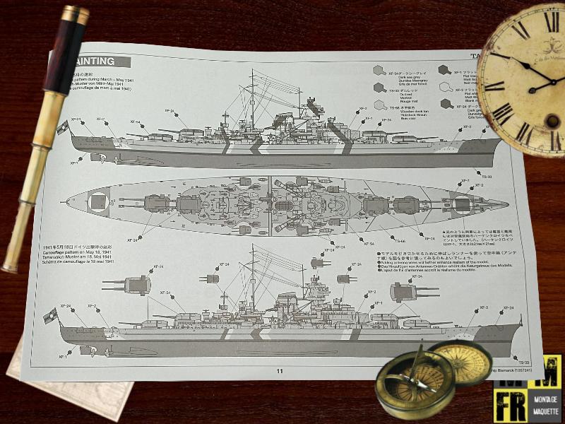 Bismarck 1/350 Tamiya  Wb3bq