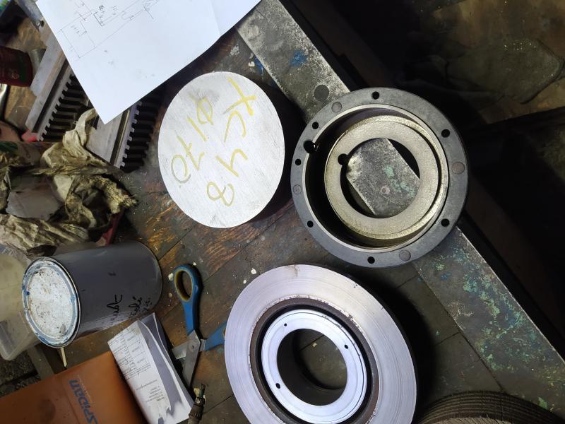 Installation d'un frein sur un tour qui n'en est pas equipé XAL8a