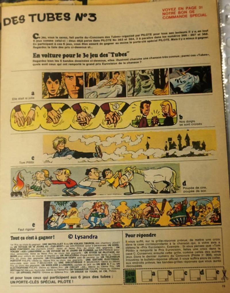 """Concours FORMIDABLE """"Le jeu des tubes""""  XK17b"""