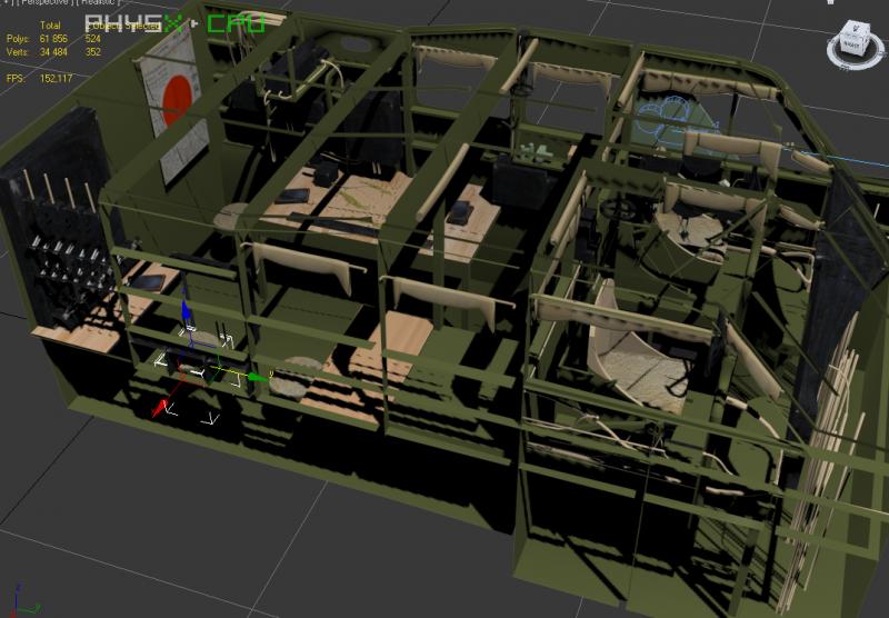 screenshots de la 3D du h6k4 XON4a