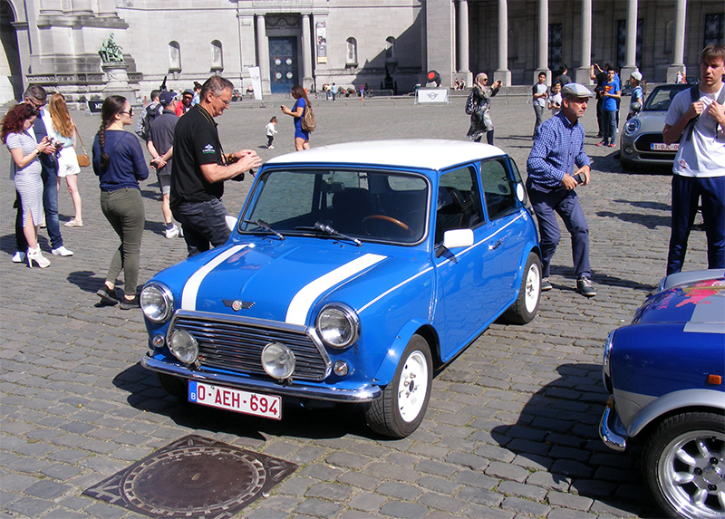 Autoworld - MINI Parade 22 avril 2019 XOn2X