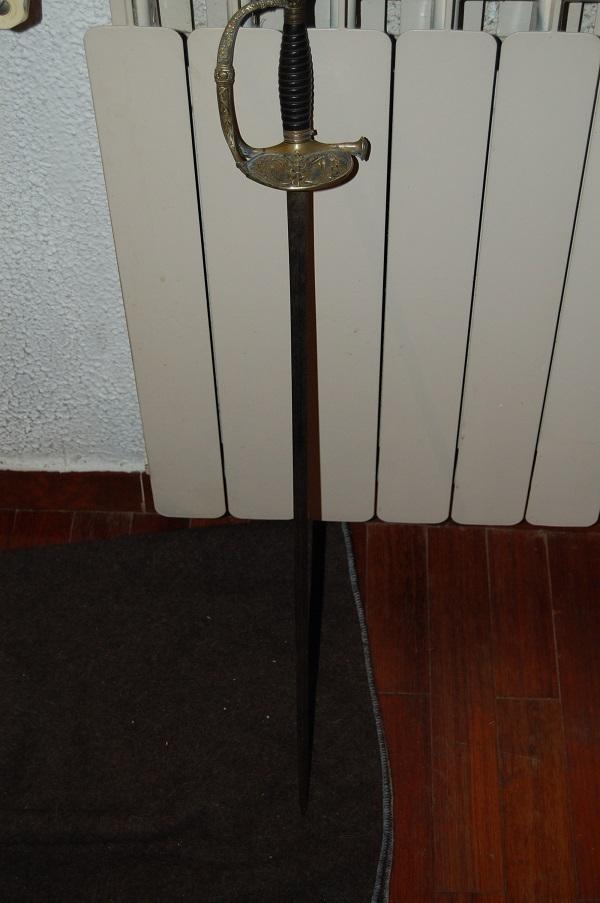 épée d'officier de marine modèle 1837 XY1a9