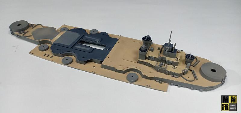 Bismarck 1/350 Tamiya  - Page 7 XZLqj