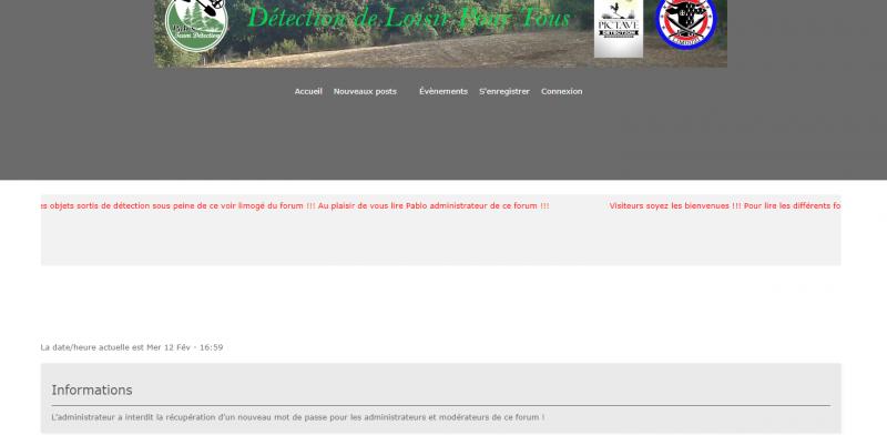 Impossibilité de revenir sur mon ancien forum YJNPZ